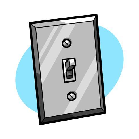 Icono de vector de Lightswitch