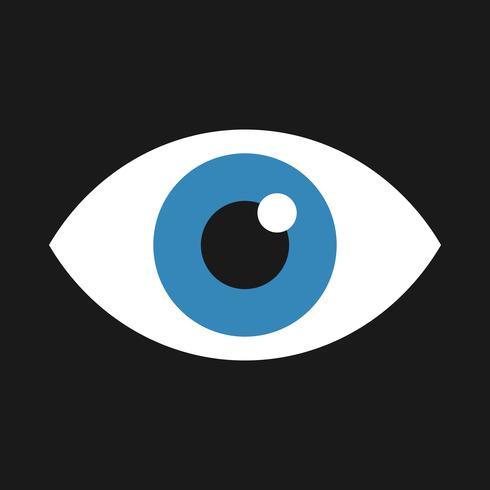 Ögonvektorikonen vektor