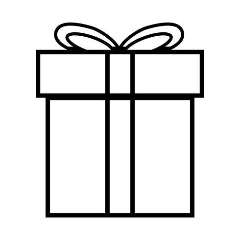 regalo de Navidad vector