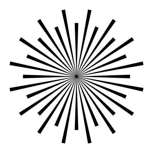 Icona di vettore di logo di fuochi d'artificio che esplode