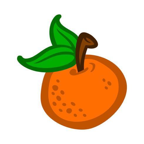 Orangenfrucht Illustration