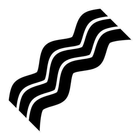 Bacon vektor ikon
