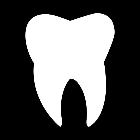 Icona di vettore del dente