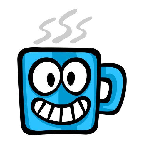 Kaffedryck vektorikonen vektor