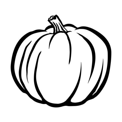 Icono de Vector de calabaza