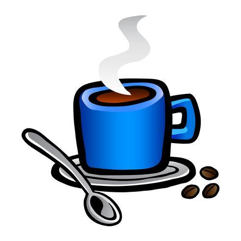 Icono de vector de bebida de café