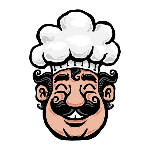 Smiling Chef Cartoon