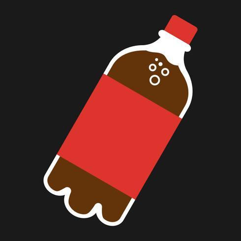 Botella de refresco de soda