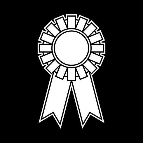 Ganador premio vector de la cinta