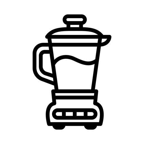 Küchenmaschine Mixer Vektor