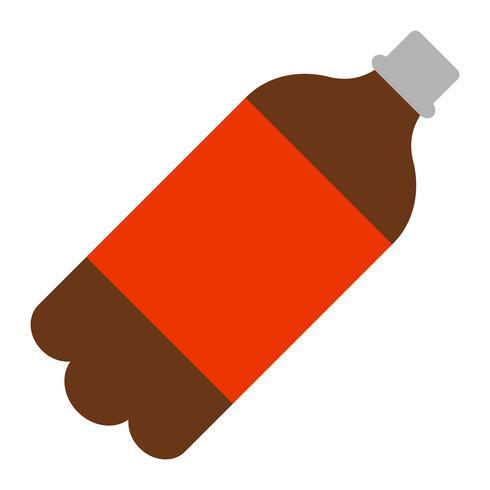 soda popflaska vektor