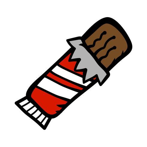 chocolate bar cartoon