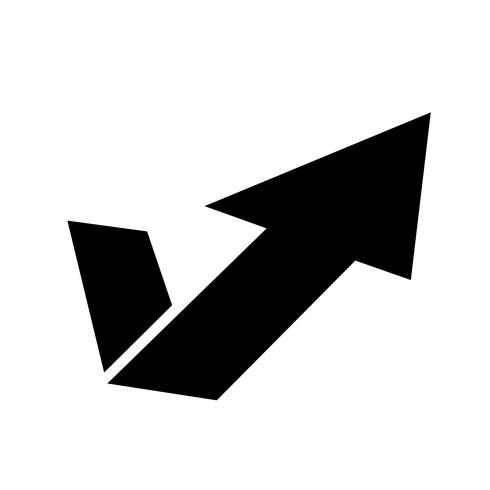 Pfeilsymbol vektor