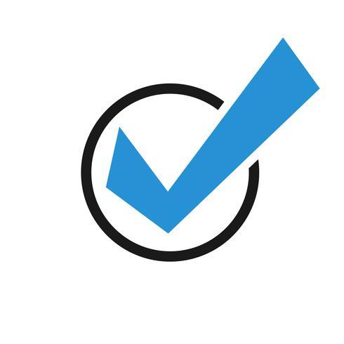 Vinkje Vector pictogram