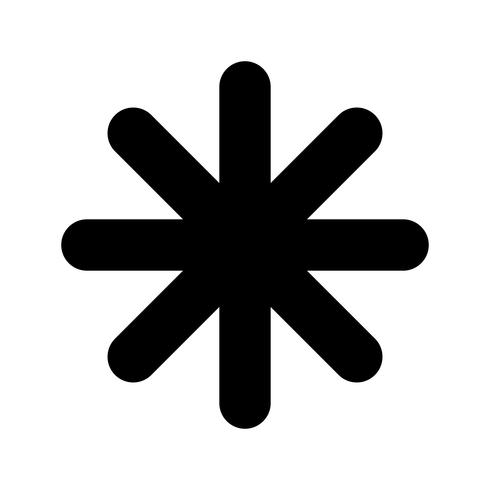 Vetor de asterisco - Download Vetores Gratis, Desenhos de Vetor, Modelos e  Clipart