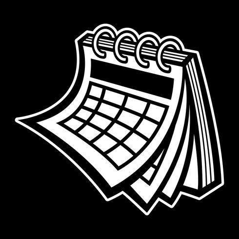 Icône de calendrier calendrier vecteur