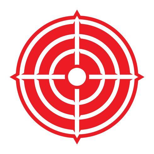 Målvektorns ikon