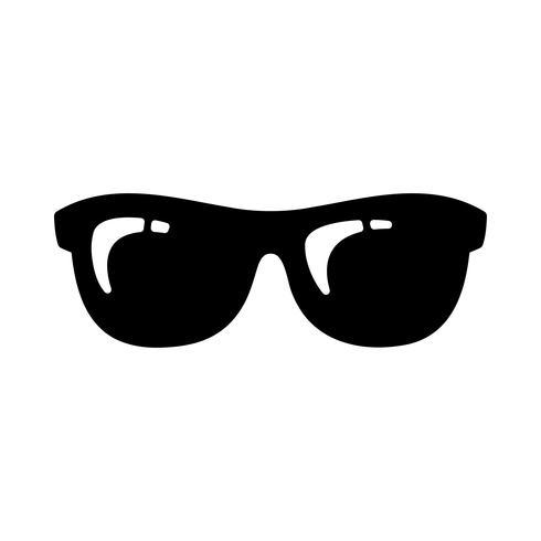 Icône de vecteur Cool Sunglasses Eye Frames