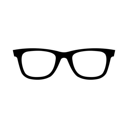Cool Sunglasses Eye Frames ícone vector