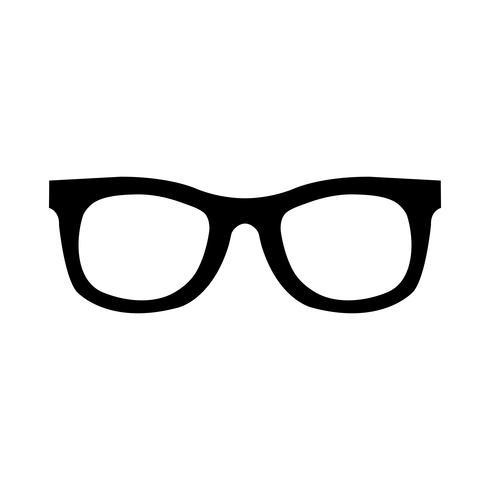 icono de vector de gafas de sol cool marcos