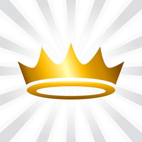 Icona di vettore della corona reale