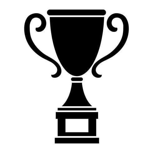 Ilustración de vector de trofeo