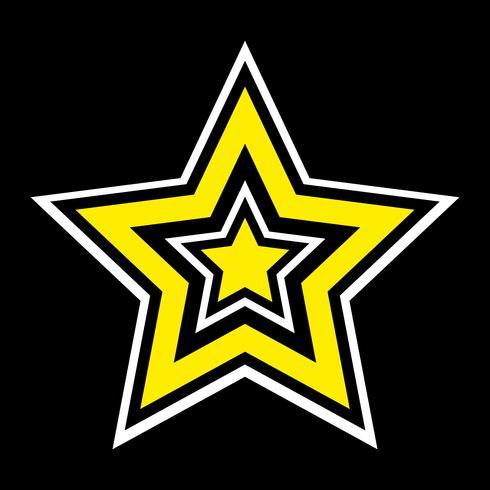 Ícone de estrela vector
