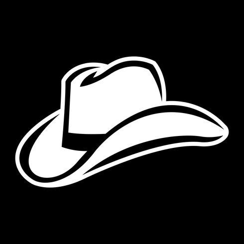 Western Cowboy Hat vector