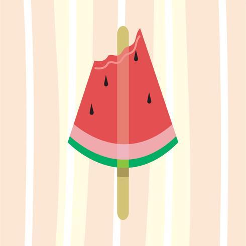 helado de verano vector