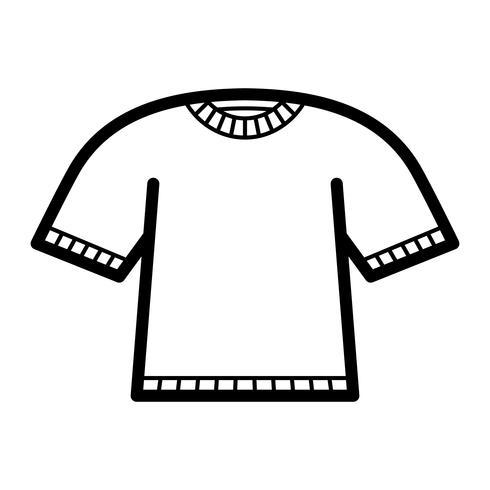 T-tröja mall vektor