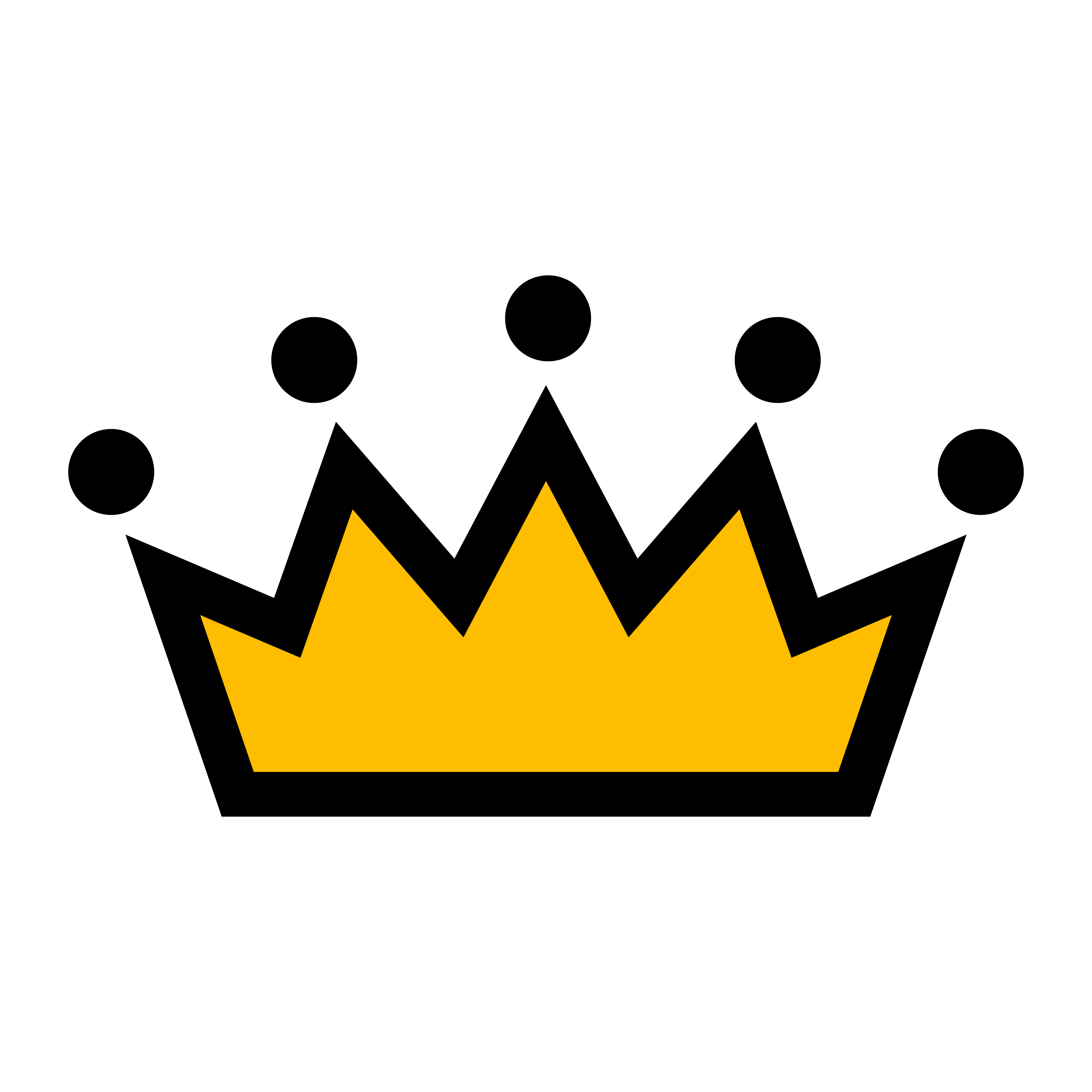Royal Crown Vector Icon 554673