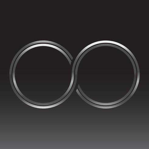 Símbolo de bucle infinito