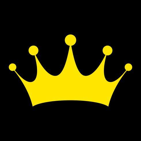 Königliche Krone-Vektor-Symbol
