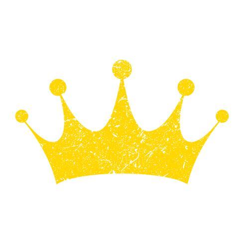 Ícone de vetor de coroa real