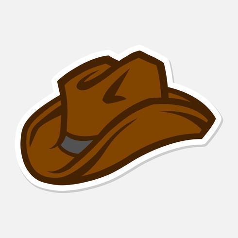 Chapeau de cowboy occidental