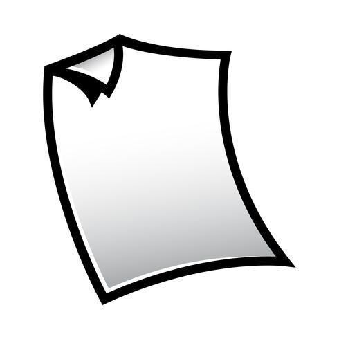 Icona di carta