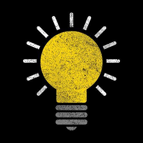 lightbulb vektorikonen