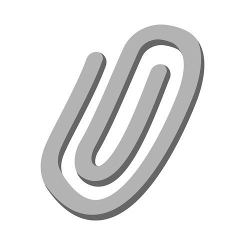Paper Clips Vector Icon
