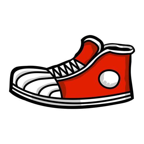 Sneaker tecknad ikon