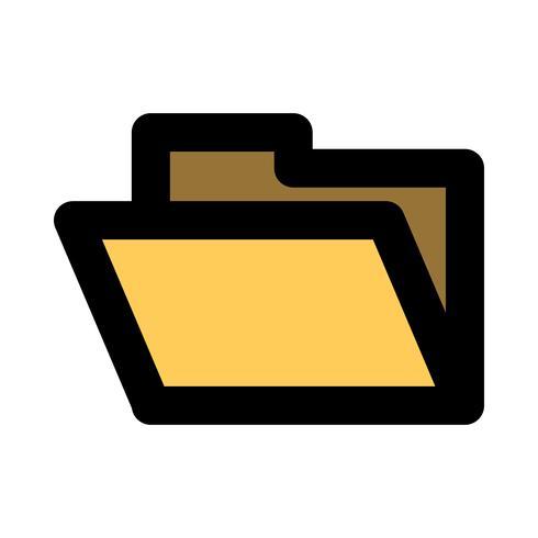 Icona di vettore della cartella