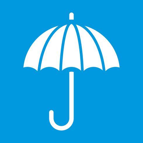 Icono de vector de paraguas