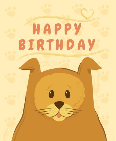 Grattis på födelsedagdjur