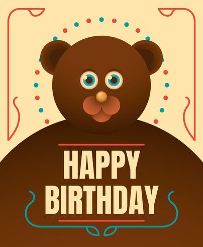 Alles Gute Zum Geburtstag Tiere Kostenlose Vektor Kunst Archiv