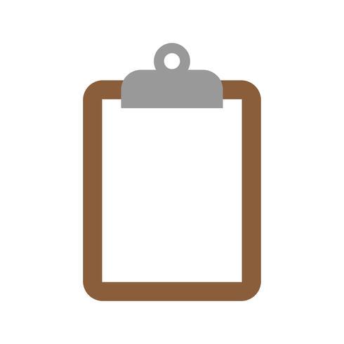 Icona di vettore di appunti