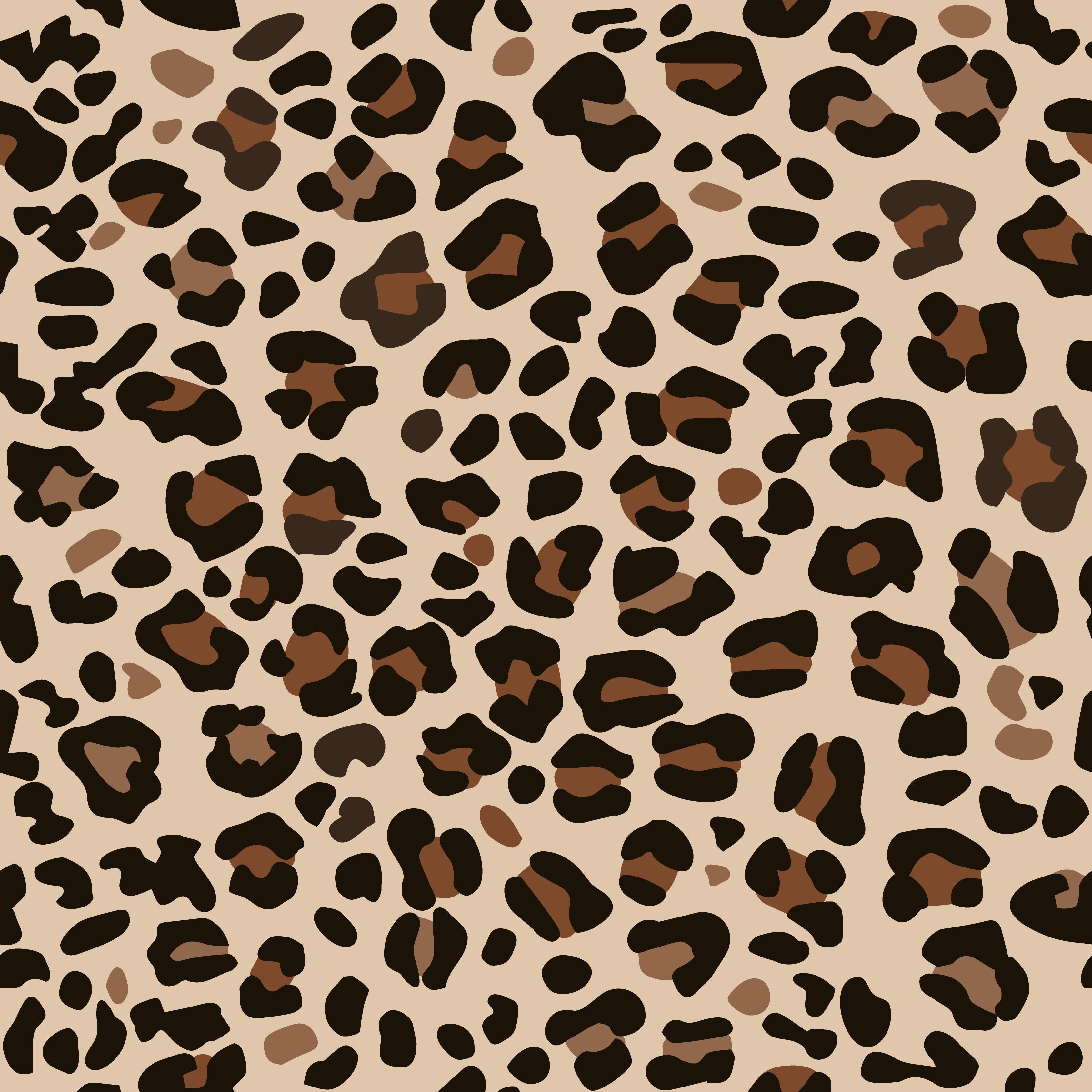 Leopard Print Home Decor:  Leopard Brown Print .