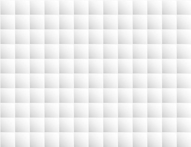 Fondo geométrico blanco abstracto estilo bloque cuadrado. Diseño para telón de fondo, portada de libro, interior, papel pintado, suelo. vector