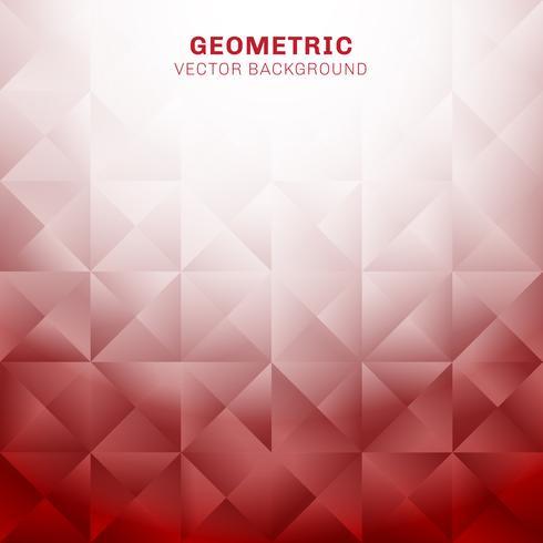 Abstracte geometrische driehoeken patroon rode achtergrond met plaats voor tekst