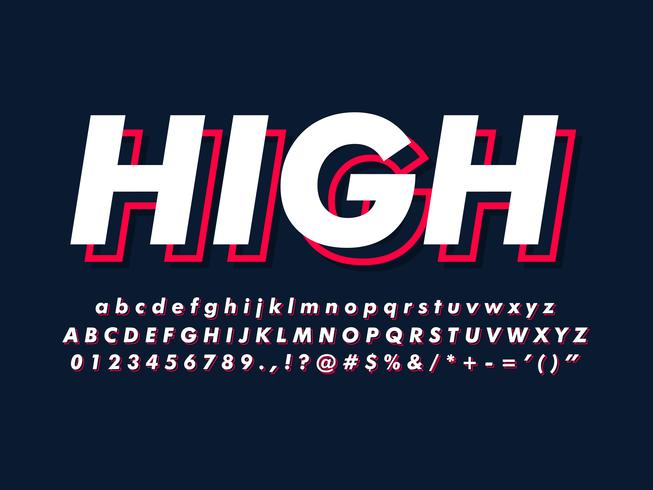 Simple Minimalist Font With Modern Style