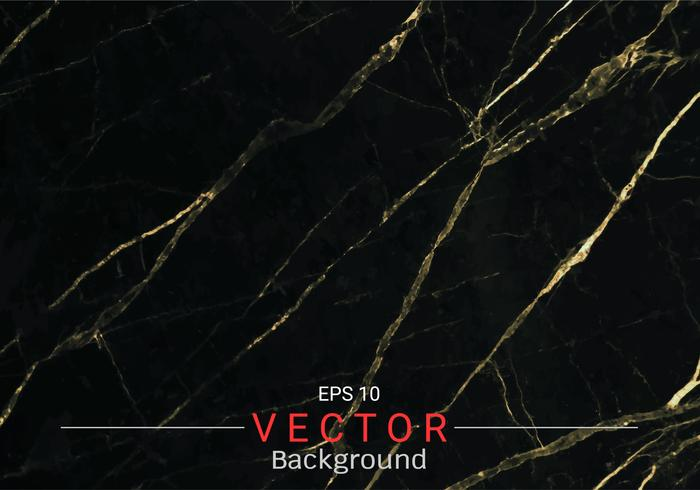 Gouden marmer, Vectorpatroon met gouden folietextuur op zwarte en donkere achtergrond. vector