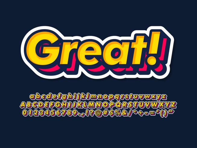 Semplice tipografia tipografica